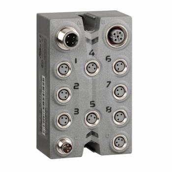 blok za proširenje - TM7 - IP67 - 8 DI/DO - 24V DC - 0.5 A - M8 konektor