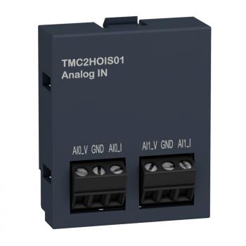 kertridž M221 - aplikacije dizanja 2 analogna ulaza - I/O proširenje