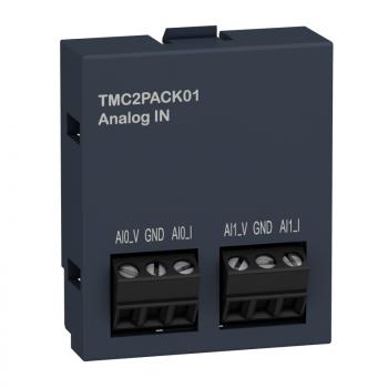 kertridž M221 - aplikacije pakovanja 2 analogna ulaza - I/O proširenje