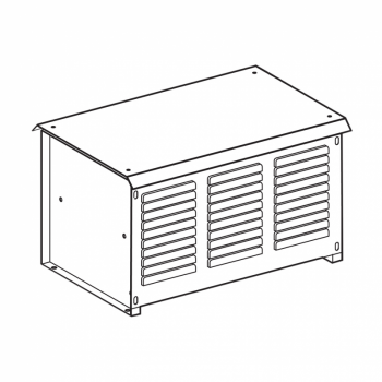 kočioni otpornik - 2.1 Ω - 75 kW - IP23