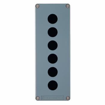 livena prazna upr. stanica - XAPM - Ø22 - legura cinka - 6 horizontalnih otvora