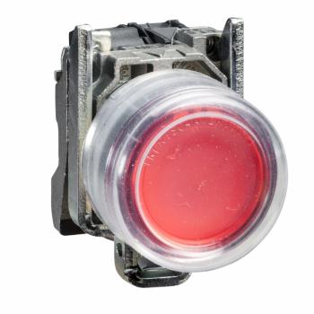 crveni taster Ø 22 - opružni sa povratkom - 1 NC-ATEX