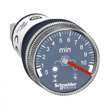 100…240 VAC/DC tajmer za montažu na ploču jedna funkc. 0.5 min..10 min kašnjenje
