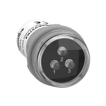 400 VAC - indikator prisustva faza - sa 3 LED lampice: crvena, zelena, žuta