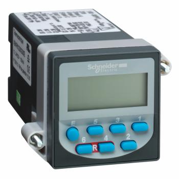 brojač sa pretpodešenom vrednošću - LCD 6 cifara - 230 V AC