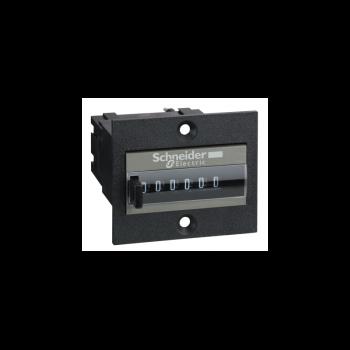 brojač impulsa - mehanički 6 cifara - 24 V DC