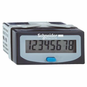 brojač impulsa - LCD 8 cifara - interna litijumska baterija