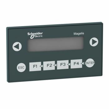 displej 2x20 sa tastaturom- alfanumerički ekran - zelena - 5 V