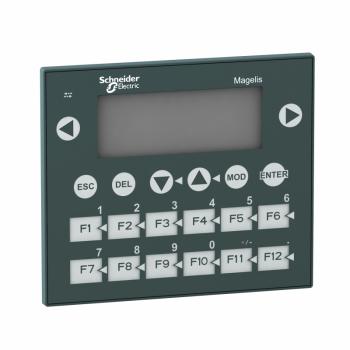 mali panel sa tasterima - matriks ekran - zeleni - 122 x 32 piksela - 5 V DC
