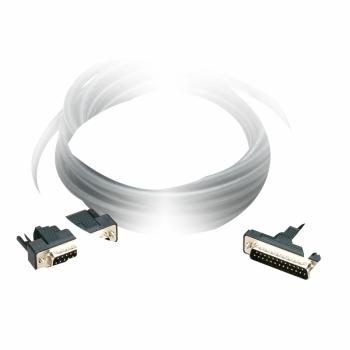 direktan kabl za povezivanje - D = 2.5 m - 2 muška SUB-D 25