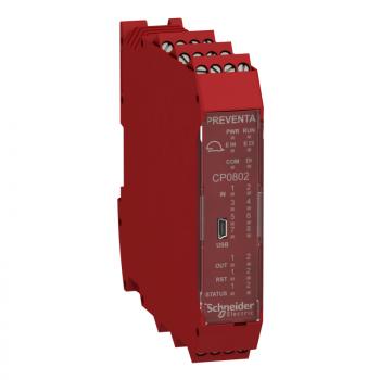 kontroler sa 8 ulaza 2 izlaza - proširivi - vijčani priključak