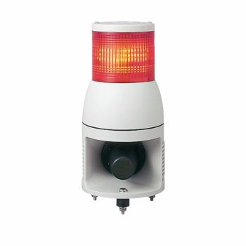 svetlosna kolona 100 mm 24 V sirena - stalno/trepćuće LED svetlo - crvena