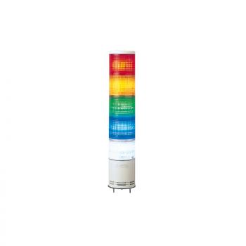 100mm svetlosna kolona CNZPB montaža na bazu - zujalica, trepćuća