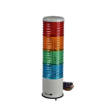 60mm svetlosna kolona CNZP montaža na bazu zujalica - trepćuća