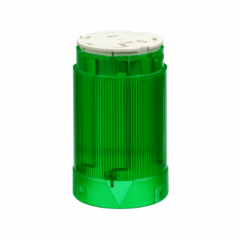 svetleća jedinica - Ø 45 - zelena - BA 15d - bez sijalice - <= 230 V AC DC