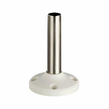 cev sa fiksnom osnovom D=100 mm - aluminijum - bela - XVM