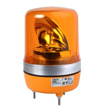 106mm rotirajuća svetiljka narandžasta 24VAC-DC