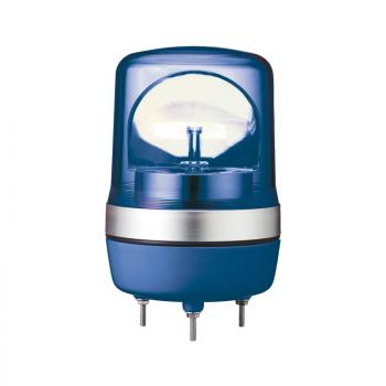 106mm rotirajuća svetiljka plava 12VAC-DC