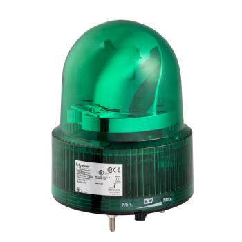 120mm rotirajuća svetiljka zelena 24VAC-DC