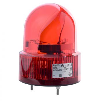 120mm rotirajuća svetiljka crvena 24VAC-DC