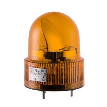 120mm rotirajuća svetiljka narandžasta 24VAC-DC