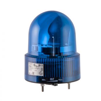 120mm rotirajuća svetiljka plava 24VAC-DC