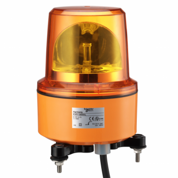 130mm rotirajuća svetiljka crvena 24VAC/DC IP67