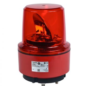 130mm rotirajuća svetiljka crvena 24VDC