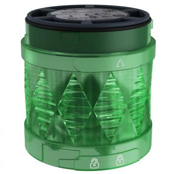 Ø 60 mm svetleća LED jedinica - trajno osvetljenje - zelena - IP65 - 24 V AC/DC