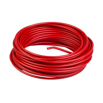crveni galvanizovani kabl - Ø 5 mm - L 25.5 m - za XY2C