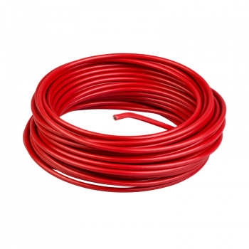 crveni galvanizovani kabl - Ø 3.2 mm - L 15.5 m - za XY2C