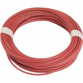 crveni galvanizovani kabl - Ø 3.2 mm - L 25.5 m - za XY2C
