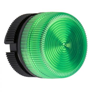 glava signalne lampice - Ø 22 - zelena