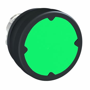 glava tastera za otežane uslove rada - zelena - bez oznake