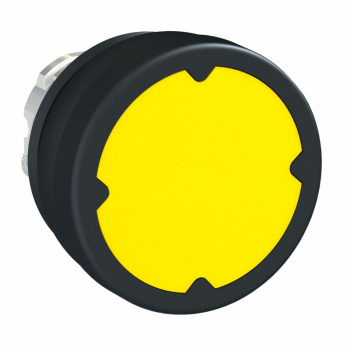 glava tastera za otežane uslove rada - žuta - bez oznake