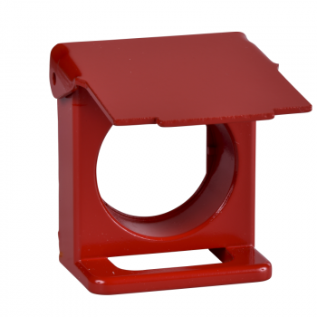crveni poklopac sa mogućnošću zaključavanja za Ø22 udubljeni taster