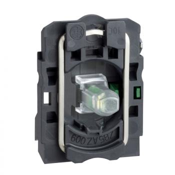 beli svetlosni blok sa montažnim elementom - integrisani LED 24V 1NO