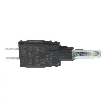 beli svetlosni blok sa montažnim elementom - integrisani LED 12...24V