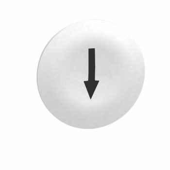 beli poklopac sa oznakom strelice za pravougaoni taster sa više glava Ø22