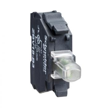 beli svetlosni blok za glavu Ø22 integrisan LED 230..240V vijčani priključak