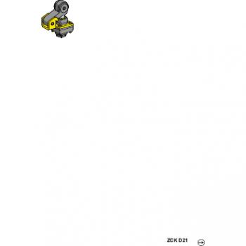 glava granič.prek.ZCKD- termopl.poluga sa točkićem i klipom horiz. pravac