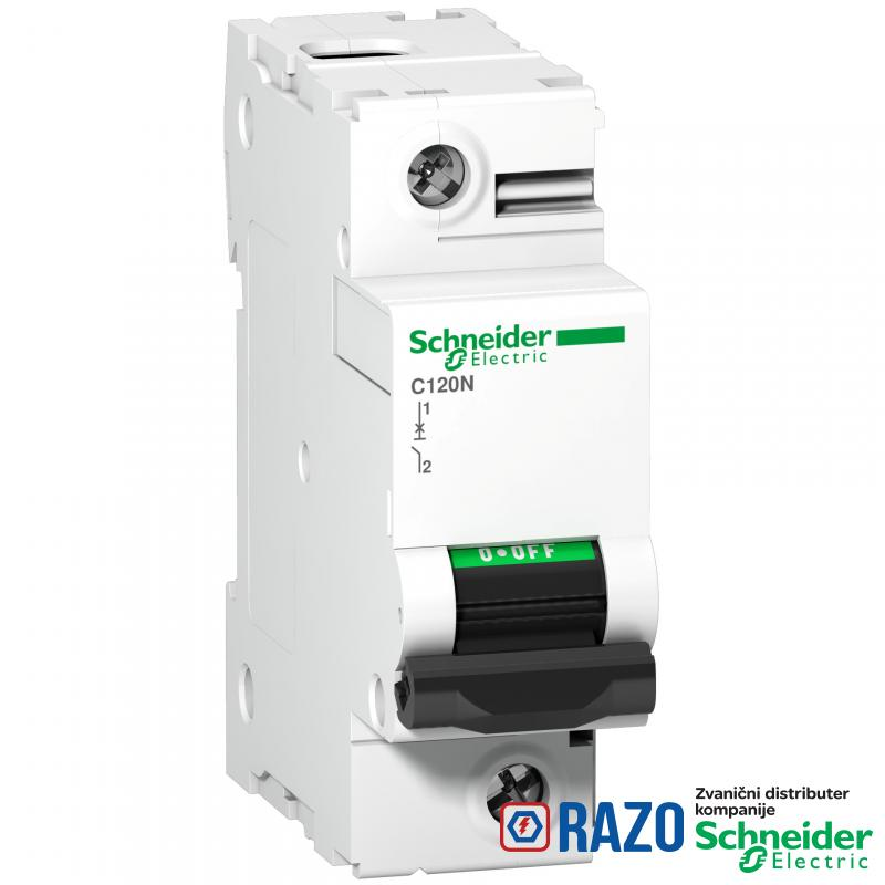 C120N - automatski prekidač - 1P - 125A - C kriva