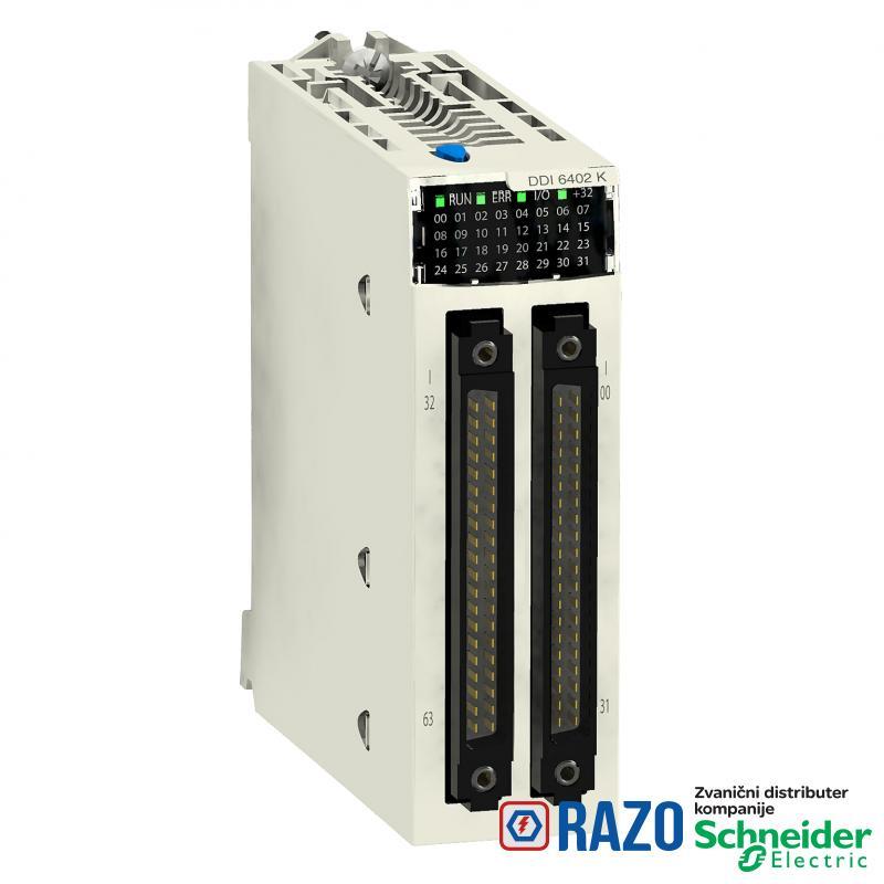 digitalni ulazni modul M340 - 64 ulaza - 24 V DC pozitivna logika