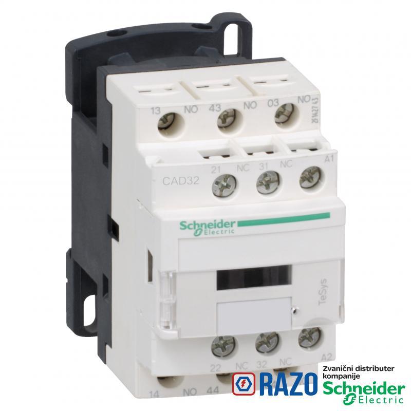 TeSys D pomoćni kontaktor- 3 NO + 2 NC - <= 690V - 220 VDC kalem niske potrošnje