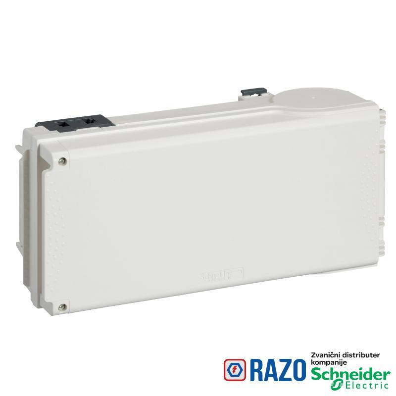 Canalis - utična kutija za DIN osigurače - Néozed E18 - 50 A sa izolatorom
