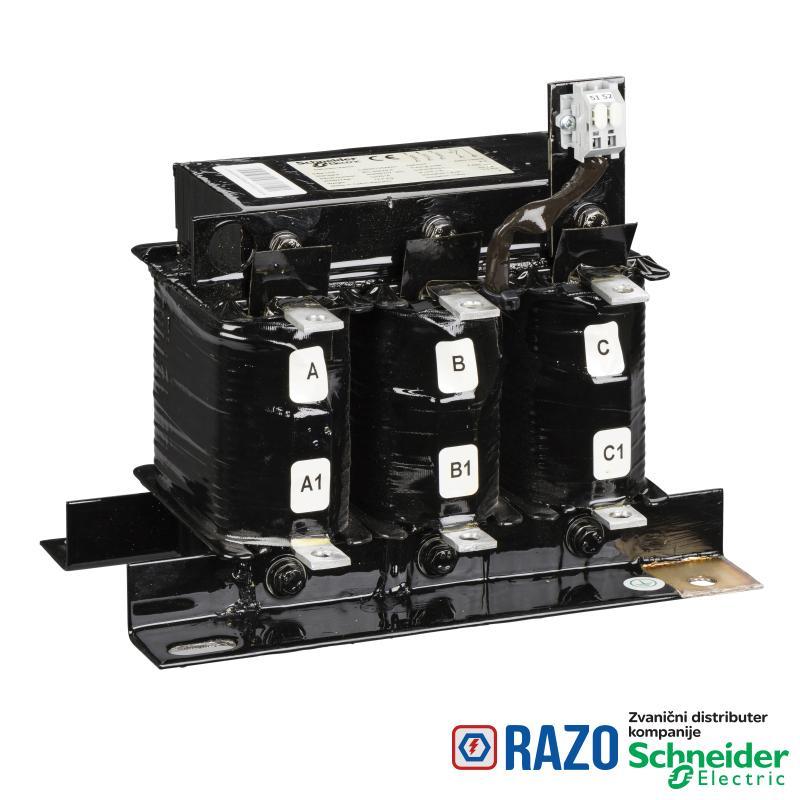 prigušnica za harmonike 100kvar 135Hz (2.7) 14% 50Hz 400V