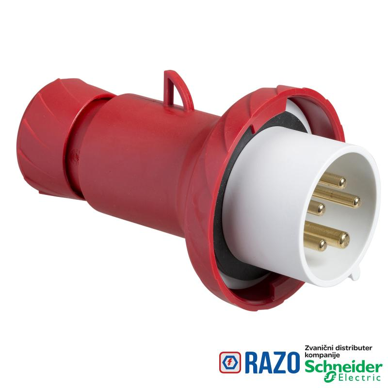 Industrijski utikač 32A 3P+N+E Stepen zastite IP67