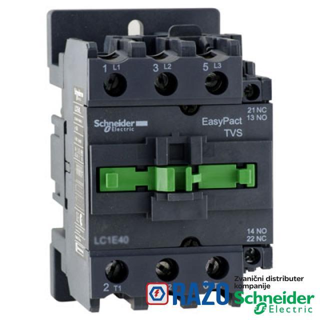 Kontaktor 3P 40A 18.5kW 230V AC