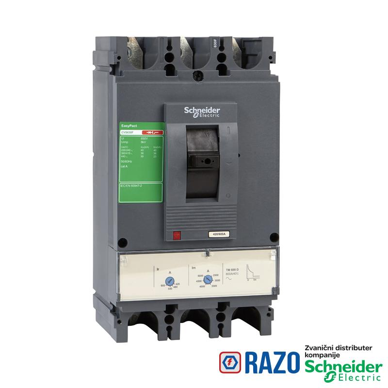 EasyPact CVS630F TM600D 3P3D