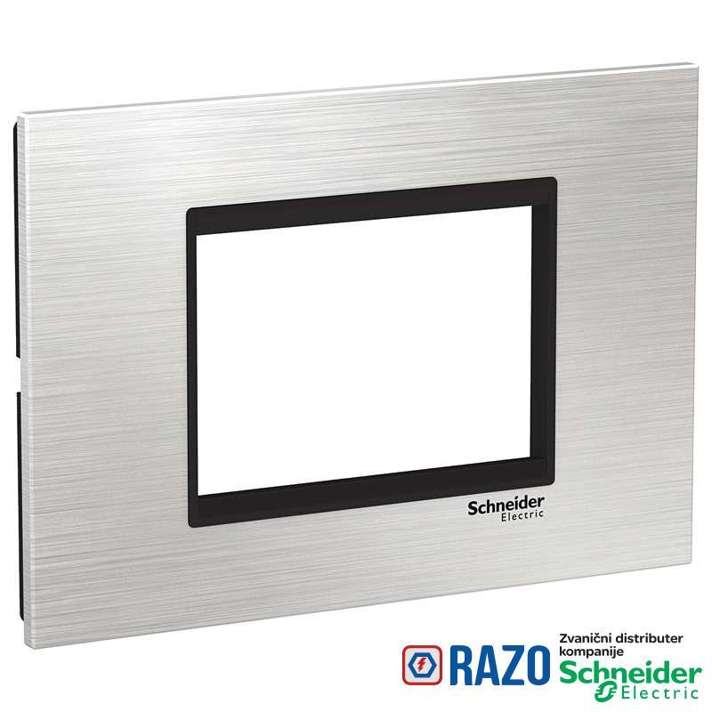 Easy Styl Dekorativni ram inox 3M srebrna/crna
